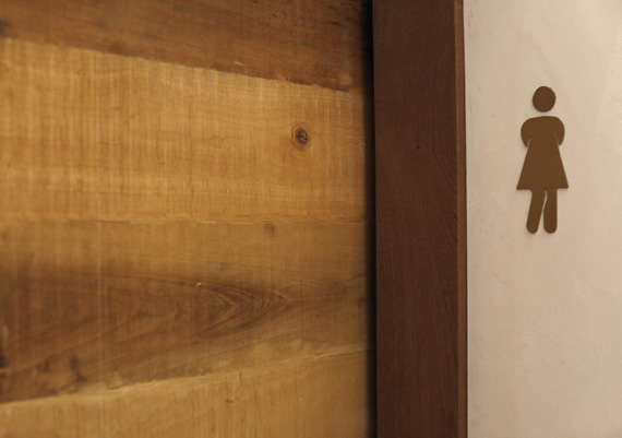 Karel T Lounge Bespoke Kenya Made Door and Sign by Local Artisan